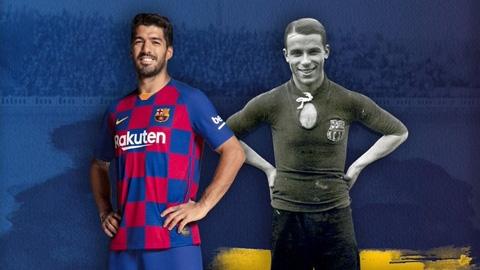 Suarez lọt top 4 chân sút vĩ đại nhất lịch sử Barca