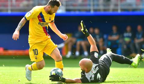 Sự trở lại của Messi giúp Barca hồi sinh