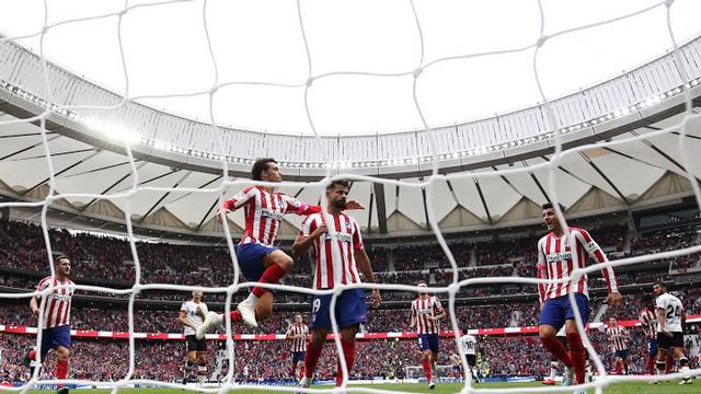 Atletico 1-1 Valencia: Costa ghi bàn, Atletico vẫn bị chia điểm