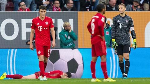 Đây là Bayern Munich tệ nhất trong 9 năm qua