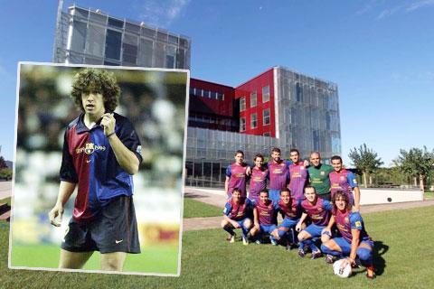 Carles Puyol trưởng thành từ lò La Masia nhờ nỗ lực và sự chăm chỉ hơn người