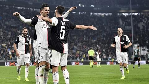 Ronaldo lại rực sáng trong thắng lợi của Juventus