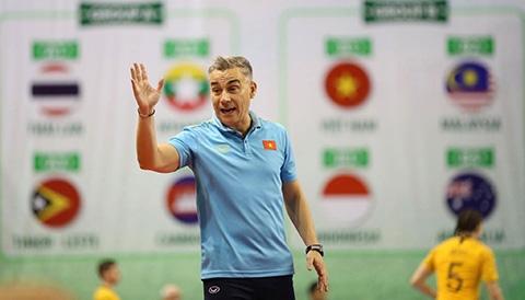 Thuyền trưởng ĐT futsal Việt Nam tin tưởng vào một tương lai màu hồng