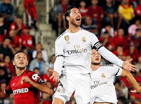 Real đã phải nhận thất bại đầu tiên ở La Liga mùa này