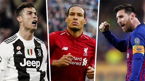Puyol mong Van Dijk đánh bại Messi và Ronaldo giành QBV