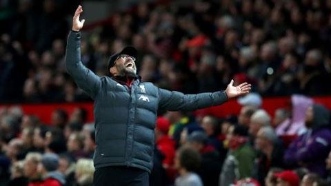 Klopp vẫn bị 'quỷ ám' ở Old Trafford