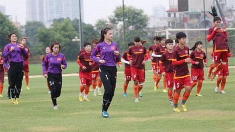 U19 nữ Việt Nam chốt danh sách  dự giải U19 châu Á 2019
