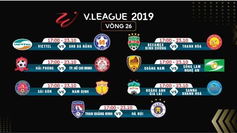 Nóng bỏng đua trụ hạng V-League 2019: trực tiếp trên VTVcab