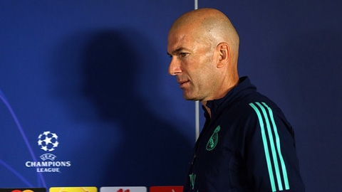 Nếu thua Galatasaray, Zidane có thể bị Real sa thải