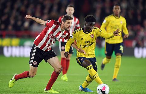 Arsenal chiếm ưu thế ngay sau tiếng còi khai cuộc