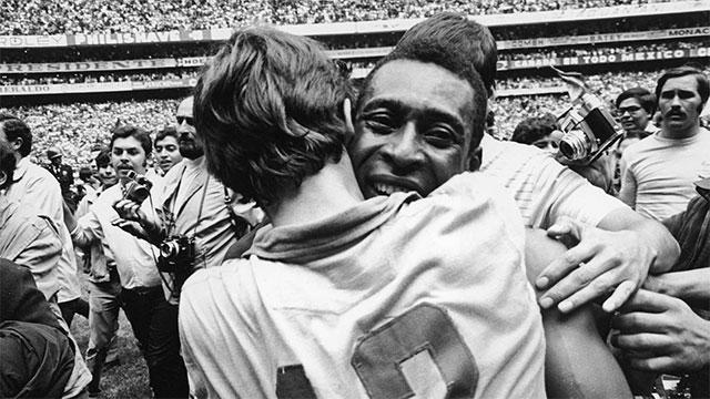 Pele đã 3 lần giành cúp vàng thế giới