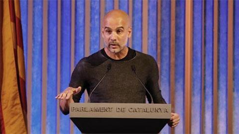 HLV Guardiola được tiến cử làm chủ tịch xứ Catalan