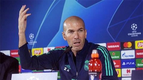 HLV Zidane muốn làm việc cho Real đến lúc nào?