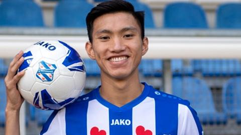 Văn Hậu kiến tạo trong chiến thắng của U21 Heerenveen