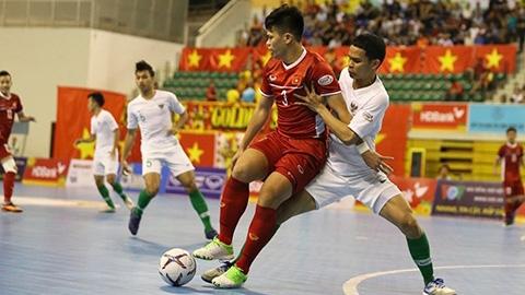 Phung phí cơ hội, ĐT futsal Việt Nam hòa tiếc nuối với Indonesia