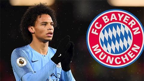 Man City sẽ bán Sane cho Bayern