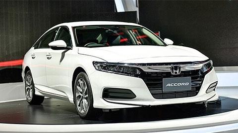 Honda Accord 2019 chốt giá hơn 1,3 tỷ đồng, cạnh tranh Toyota Camry