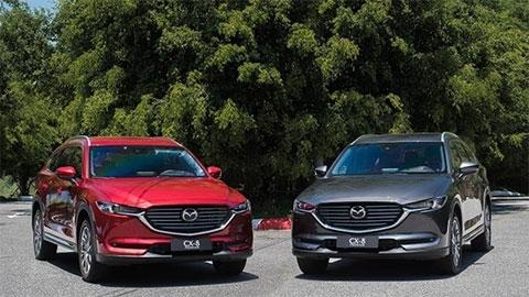 Mazda CX-5 2019, CX-8 tiếp tục giảm giá mạnh, đấu Honda CR-V, Hyundai Santa Fe