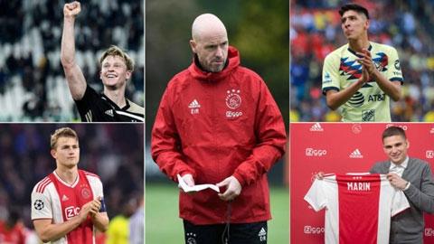 Ajax được 'tiếp máu' ra sao sau mùa giải thành công?