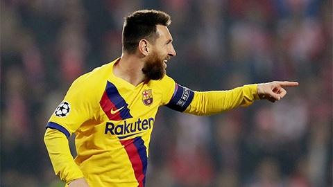 Messi lập kỳ tích mới cùng Barca, cân bằng kỷ lục với Ronaldo