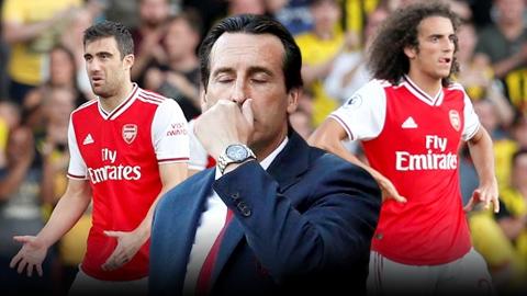 Arsenal đang ngày càng mục ruỗng vì Emery