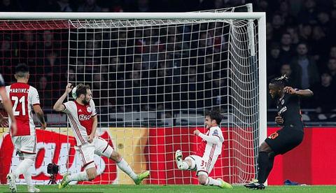 Ajax 0-1 Chelsea: Người hùng Batshuayi