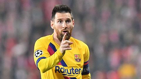 Valverde choáng trước khả năng không giới hạn của Messi
