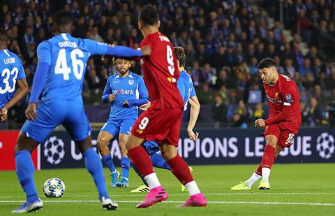 Genk 1-4 Liverpool: Hàng công bùng nổ, Liverpool thắng to trên đất Bỉ