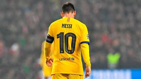 Cánh én Messi không thể gọi mùa Xuân về cho Barca