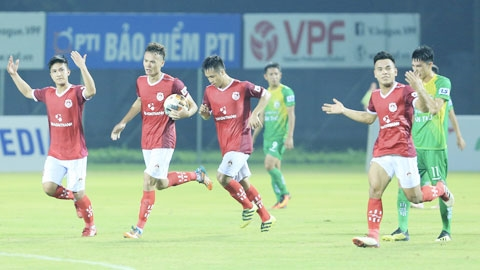 Phố Hiến đá giao hữu với U21 Tuyển chọn Việt Nam