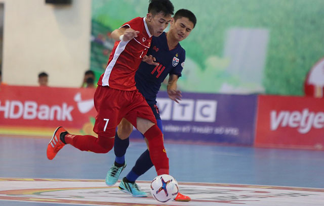 Thua Thái Lan, ĐT futsal Việt Nam dừng bước ở bán kết