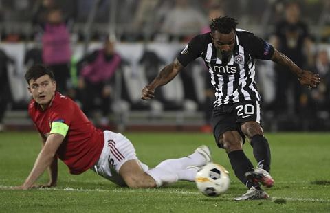 M.U đã có một trận đấu quá chật vật trước Partizan