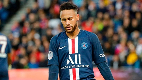 PSG bối rối với tương lai của Neymar