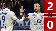 Lyon 2-0 Metz(Vòng 10 Ligue 1 2019/20)
