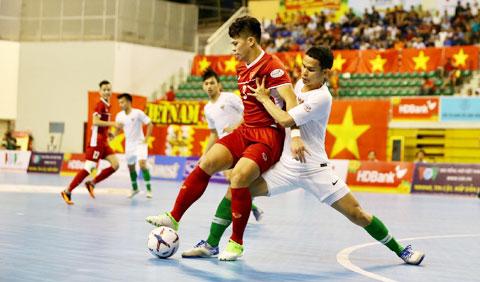 ĐT futsal Việt Nam vs ĐT futsal Myanmar, 14h00 ngày 27/10: Thắng là mệnh lệnh