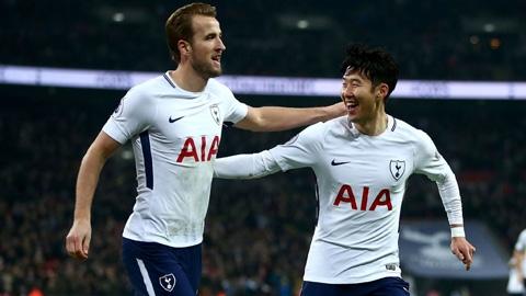Tottenham nên để Kane  đá cặp với Son