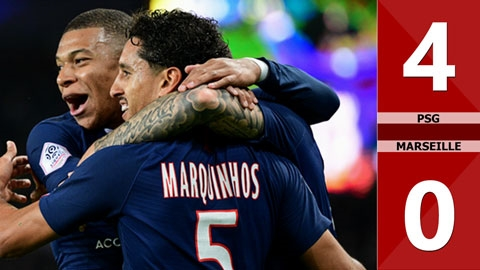 PSG 4-0 Marseille(Vòng 10 Ligue 1 2019/20)