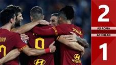 AS Roma 2-1 AC Milan(Vòng 9 Serie A 2019/20)