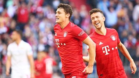 Trung vệ tân binh Bayern ngày càng... giỏi tấn công