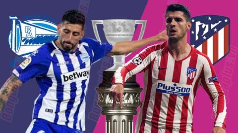 Alaves vs Atletico, 01h00 ngày 30/10: Xoay chiều lịch sử