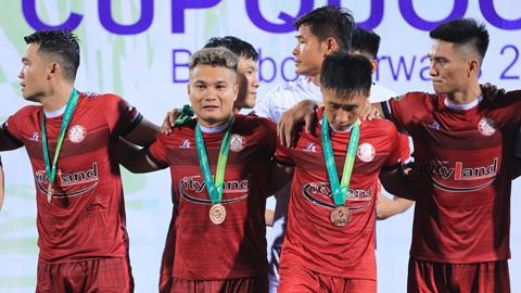 Giành cú đúp danh hiệu, CLB TP.HCM khép lại mùa giải thành công