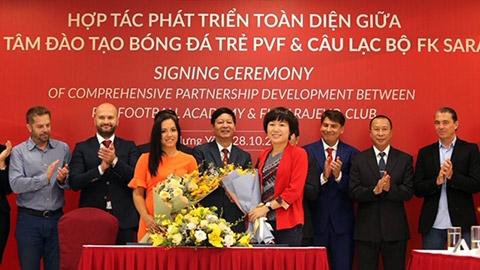 PVF ký thỏa thuận hợp tác đưa cầu thủ Việt Nam sang châu Âu