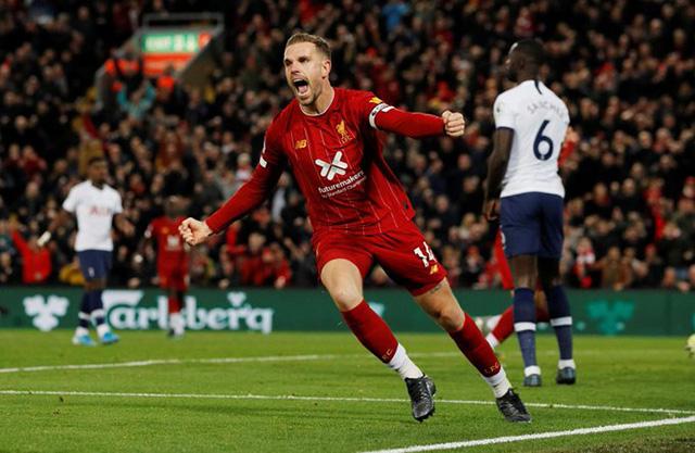 Henderson quân bình tỷ số cho Liverpool