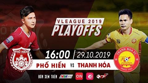 Phố Hiến vs Thanh Hóa: trực tiếp duy nhất trên VTVcab