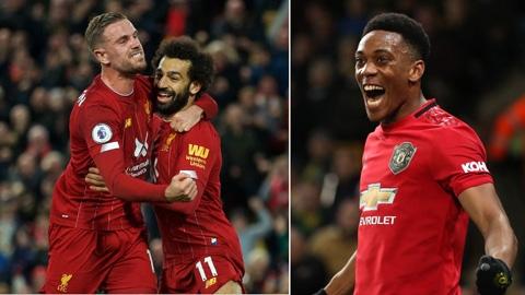 Tổng hợp vòng 10 Ngoại hạng Anh: Liverpool vượt qua áp lực, M.U biết thắng trở lại