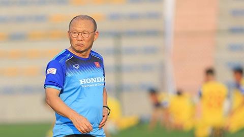 Thầy Park kêu trời vì kết quả bốc thăm SEA Games