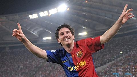 Messi coi bàn thắng hạ sát M.U là kỷ niệm ngọt ngào nhất