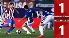 Alaves 1-1 Atletico Madrid(Vòng 11 La Liga 2019/20)