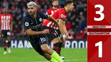 Manchester City 3-1 Southampton(Vòng 4 Cúp Liên đoàn Anh 2019/20)