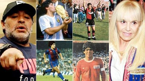 Diego Maradona: Khi yêu thì yêu hết mình,  khi hận thì hận thấu tâm can…